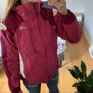 The North Face Hyvent Winter Coat Ski Jacket